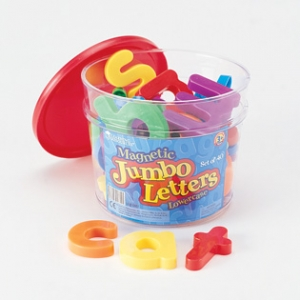 JUMBO MAGNETIC LOWERCASE LET..