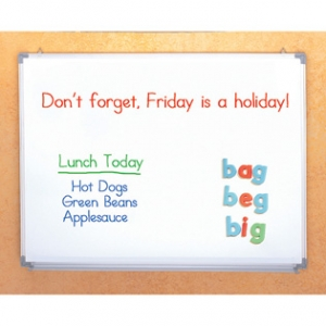 3-IN-1 MAGNETIC DRY ERASE FL..