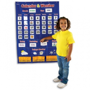 CALENDAR & WEATHER POCKET CH..