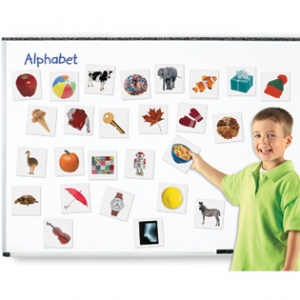DOUBLE-SIDED MAGNETIC LETTERS
