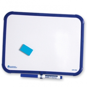 PLAIN DRY ERASE BOARD SET