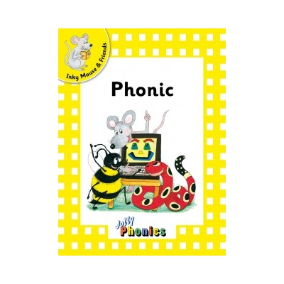 Jolly Readers Level 2 Yellow 'Inky & Friends' pack of 6- Print