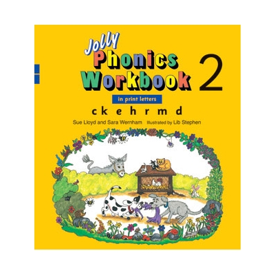 Jolly Phonics Workbook 2 - Print