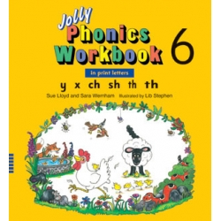 Jolly Phonics Workbook 6 - Print