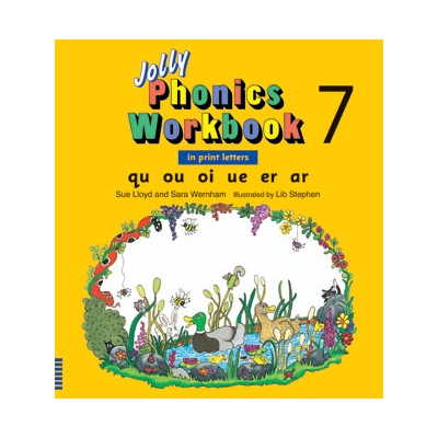 Jolly Phonics Workbook 7 - Print