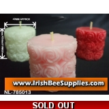 Rose Pillar Candle Mould