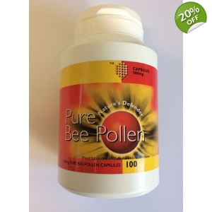 Pure Bee Pollen Capsules 500mg