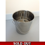 Stainless Steel Bucket 5L or 12L