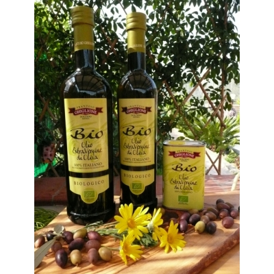 GHIGLIONE LIGURIAN ORGANIC EXTRA VIRGIN OLIVE OIL 75CL - UK ONLY