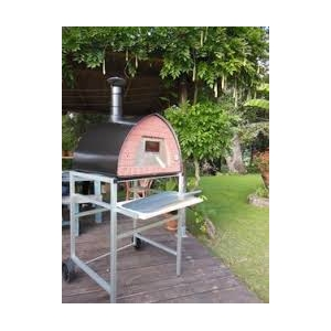 PATENTED TUSCAN WOOD BURNING OVEN, HAND MADE. MAINLAND UK ONLY