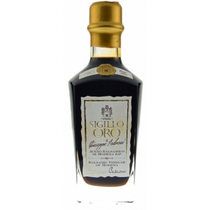 ACETO PEDRONI 1862, ´SIGILLO ORO´ PGI BALSAMIC VINEGAR 250ML - UK ONLY
