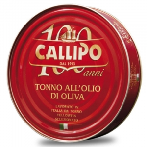 CALIPPO TUNA IN OLIVE OIL 160G from Calabria since 1913. UK only