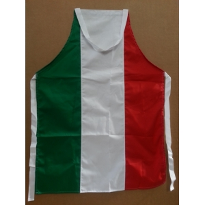 ITALIAN FLAG BIB APRON-PROMOTIONAL PRICE