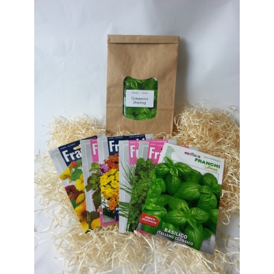 SEEDS - COMPANION PLANTING GIFT BOX SELECTION by Franchi Seeds 1783