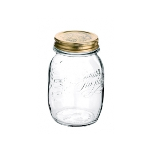 BORMIOLI QUATTRO STAGIONI 50CL 1/2 LITRE PRESERVING JARS WITH LIDS X 6