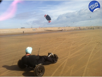 Kite Buggy Course for 4 people