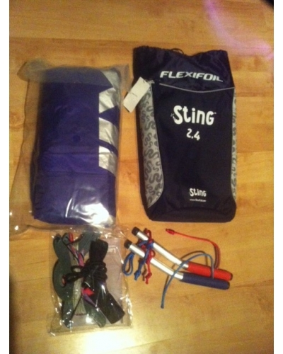 Flexifoil Sting Powerkite Ready to Fly