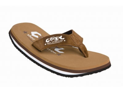 Cool Shoe Flip Flops Tobacco brown