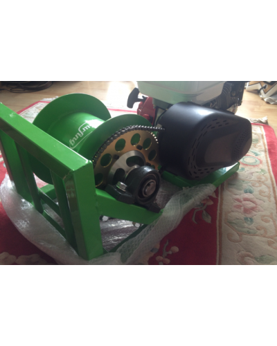 7 HP Wakeboarding winch the Kwak