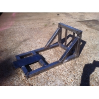 Wakeboarding winch Frame