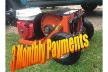 3 Month Payment plan for Orange Lazer Wake winch