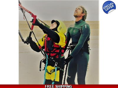 1 Day Kitesurfing Course, All equipment provided