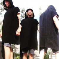Poncho changing robe th..