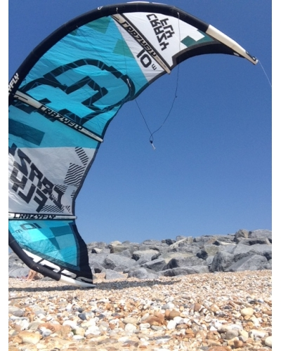Crazyfly Sculp 10m kite with bar used