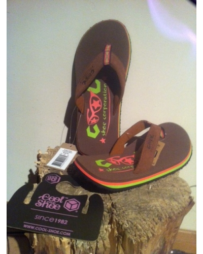 Cool Shoe Womens Eve Slight Bison 34-35 only