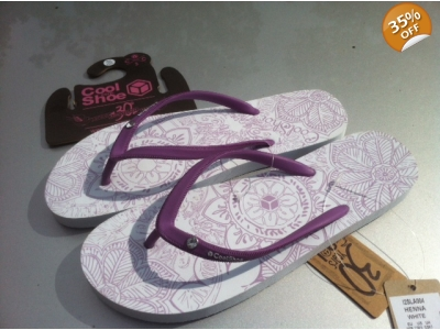 Cool Shoe Womens Henna White eve 34-35 only