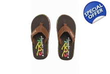Cool Shoe Child Original turkish coffee flip flops