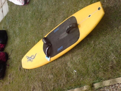 Used Gecko Kite Board Surf Style