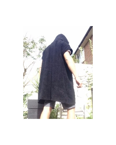 Poncho changing robe thick towel