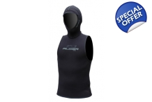 Winter Wetsuit Fleece Lined Thermal Vest with Hood Alder Vapour