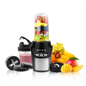 BERG 1000W Nutri Extractor Mini Blender