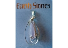 Gold Filled Earth Stone Rose Quartz
