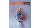 Gold Filled Earth Stone Tourmaline Qua..