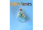 Gold Filled Earth Stone Citrine