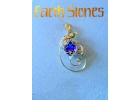 Gold Filled Earth Stone Amethyst