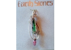 Earth Stones Tourmaline & Amethyst