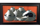 Darrin Denny Original Painting Clay Pots