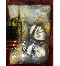 "Raina Gentry ""Liberty For All"" Original Art"