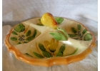 Majolica 4 Pocket Pear Server