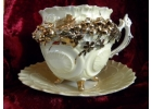 Very Unusual Footed Victorian Tea Cup ..