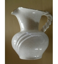 "Crockery  Pitcher ""W"" on Bottom"