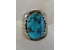 Old Pawn Arizona Turquoise & Sterling ..