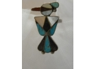 Old Pawn Mother of Pearl, Turquoise, O..