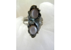 Pink Mother of Pearl & Sterling Ring S..