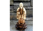 Antique Chinese  Faux Ivory  Ox Bone -..