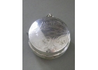 Sterling Silver Plate Measuring Tape